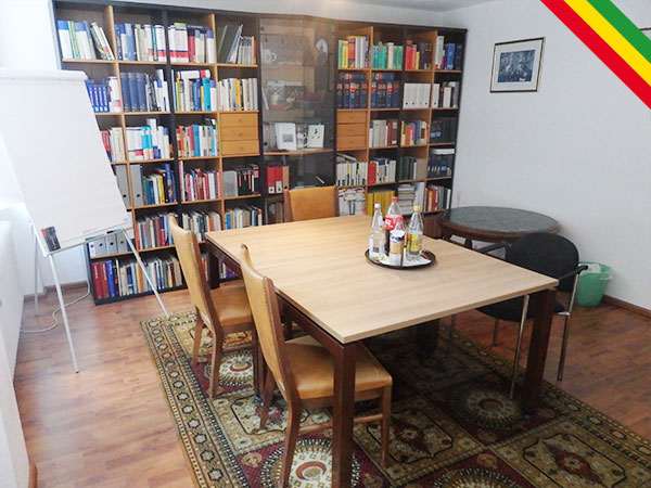Hansenhaus Bibliothek