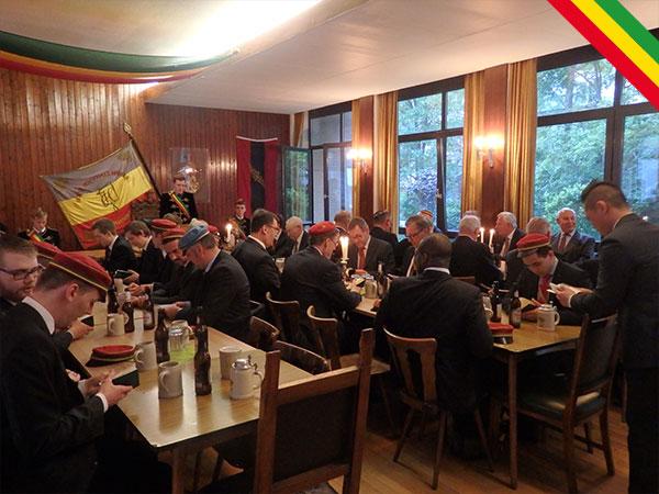 geselliges Treffen Burschenschaft Hansea Mannheim
