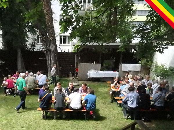 Fest im Garten Lebensbundprinzip